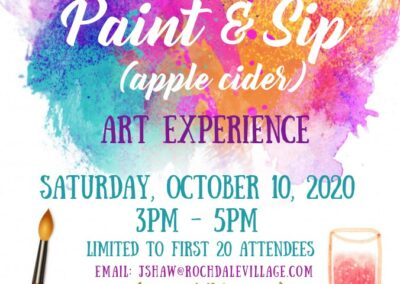 Paint and Sip 10.10.20